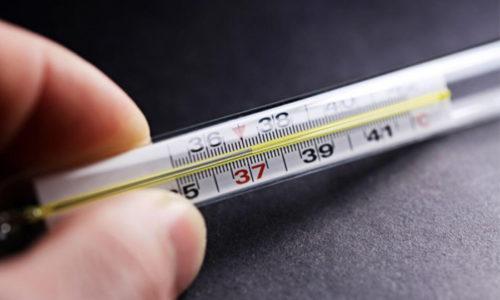 Повышенное температуры тела может быть при сладком привкусе во рту