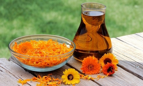 В качестве дополнительной терапии при панкреатите ребенку можно давать отвар цветков календулы