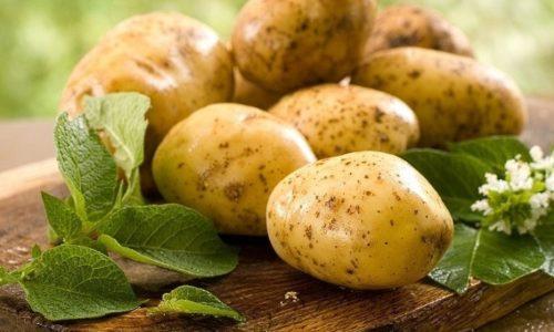 400-500 г картофеля очистить, вымыть, нашинковать, обдать кипятком и сварить