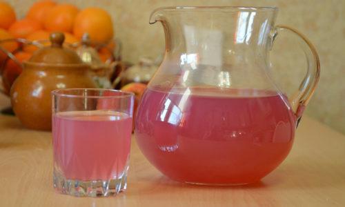 Днём в понедельник выпивается напиток из разрешенных ягод