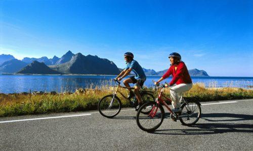 Пользу принесут непродолжительные прогулки на велосипеде