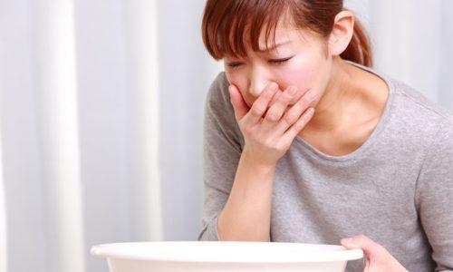 При обострении холецистита возникает тошнота