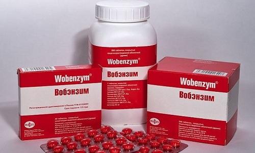 В комплексном лечении панкреатита применяется Вобэнзим — противовоспалительное, противоотечное и иммуномодулирующее средство