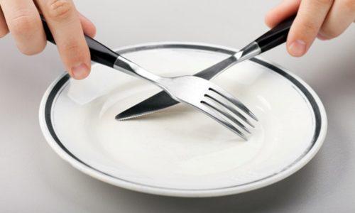 В сложных случаях врачи рекомендуют трехдневное голодание