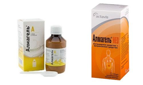 Алмагель и Алмагель Нео - лекарственные препараты, которые восстанавливают работу пищеварительного тракта