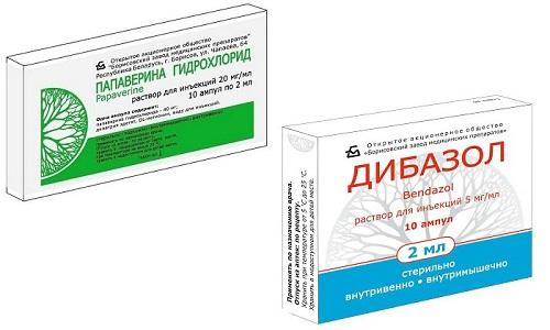 Дибазол и Папаверин применяют для терапии гипертонического криза