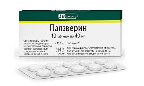 Спазмолитик (Папаверин) применяют при колике в почках, для устранения повышенного давления