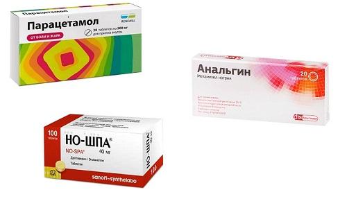 И Парацетамол, и Анальгин, и Но-шпа применяются в медицине для быстрого понижения температуры тела