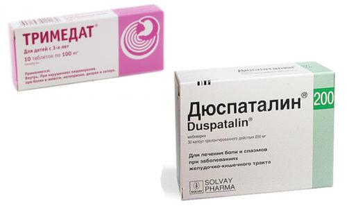 Дюспаталин и Тримедат применяют при различных болезнях и нарушениях пищеварительной системы