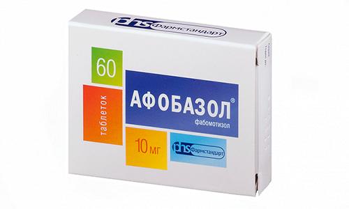 Если у пациента имеется восприимчивость к составляющим Афобазола, может развиться бронхиальная астма, сыпь на коже и зуд