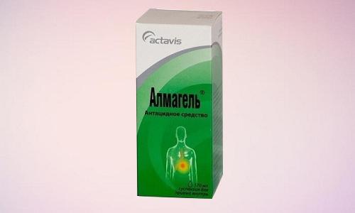 Действующие вещества Алмагеля устраняют боль уже через 5 минут после приема