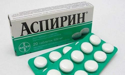 Тройчатка, в которую входит Аспирин, может стать причиной развития аллергической реакции