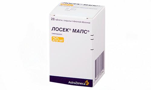 Лосек Мапс применяют при поражениях слизистых ЖКТ, связанных с употреблением нестероидных противовоспалительных средств
