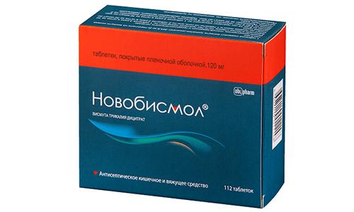 Новобисмол обладает гепатопротекторными и противоязвенными свойствами