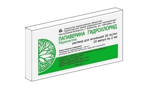 Папаверин помогает устранить гипертонус матки и снять психическое напряжение