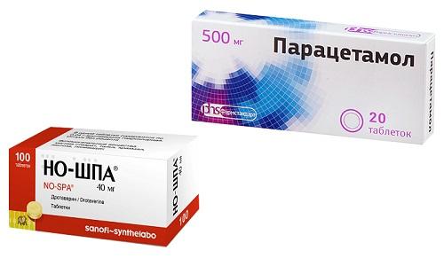 Парацетамол и Но-шпа - наиболее часто назначаемые медиками фармацевтические средства